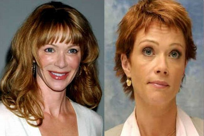 lauren holly boob nose