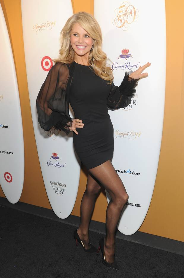 christie brinkley boobs
