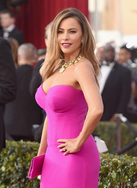 sofia vergara breast size