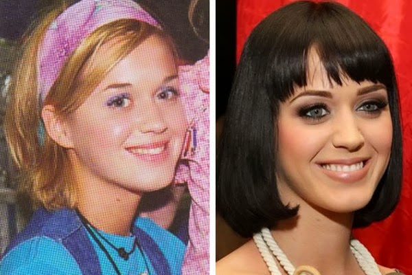 katy perry before and after